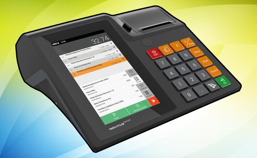 Next – innowacyjna kasa fiskalna od firmy Novitus